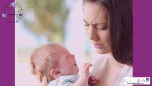 Babys weinen Familienstark