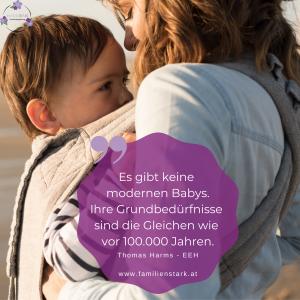 Steinzeitbaby Moderne Babys gibt es nicht Familienstark Babys weinen